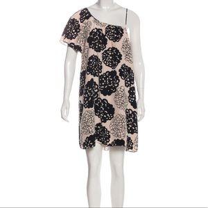 Loeffler Randall silk floral dress